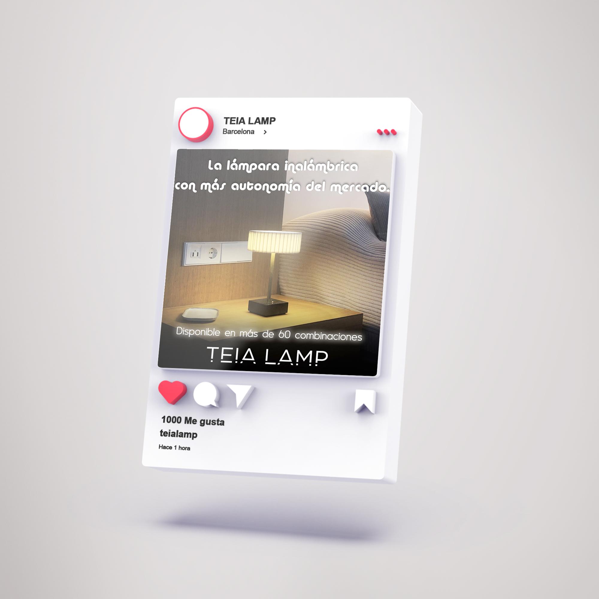 TEIA LAMP   Campaña Facebook Ads - Estrategia digital