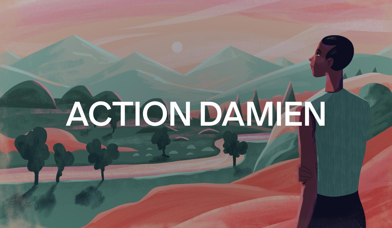 Campagne Annuel - Action Damien - 2020 - Création de site internet