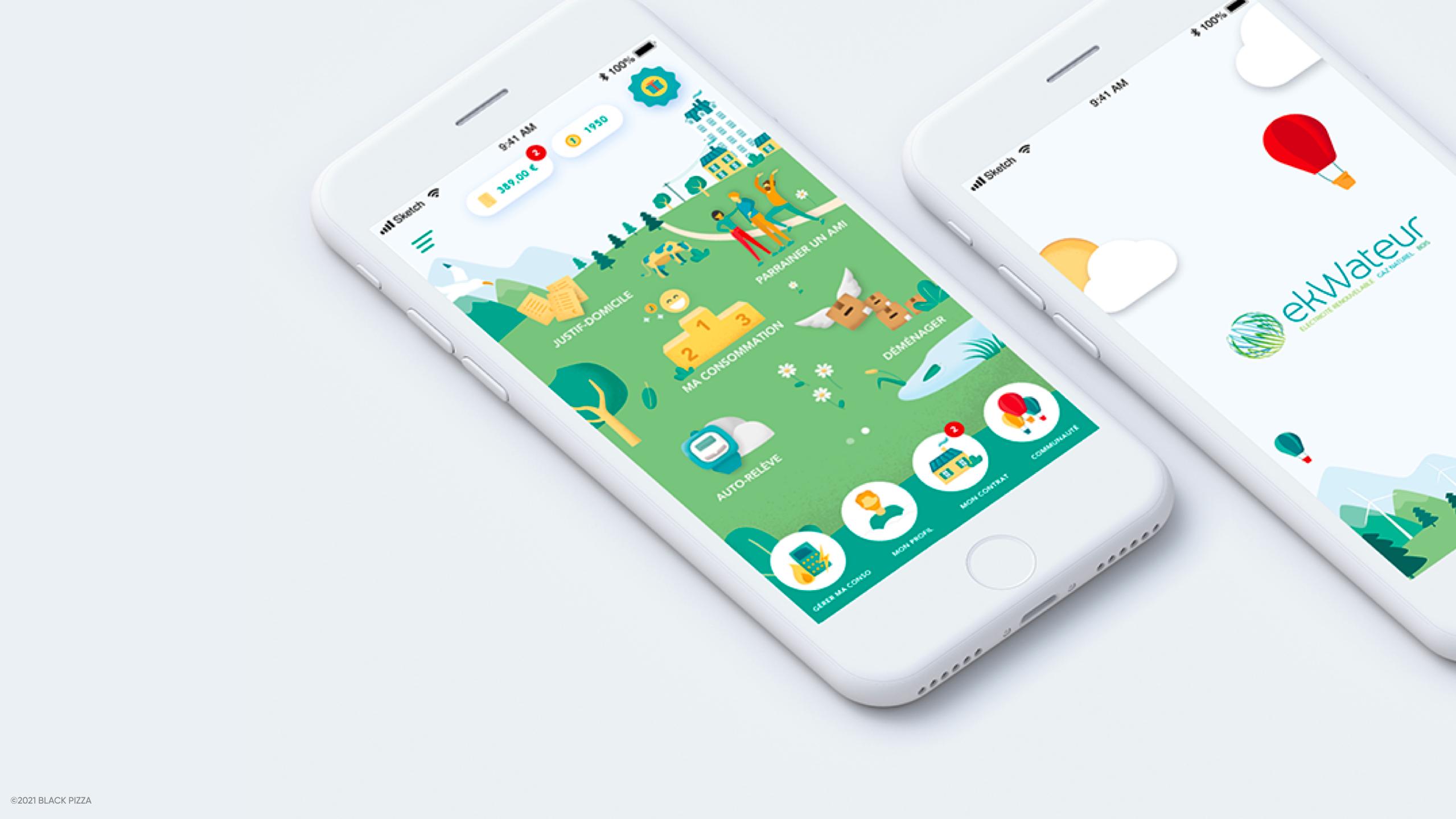 ekWateur   Application mobile - Application mobile