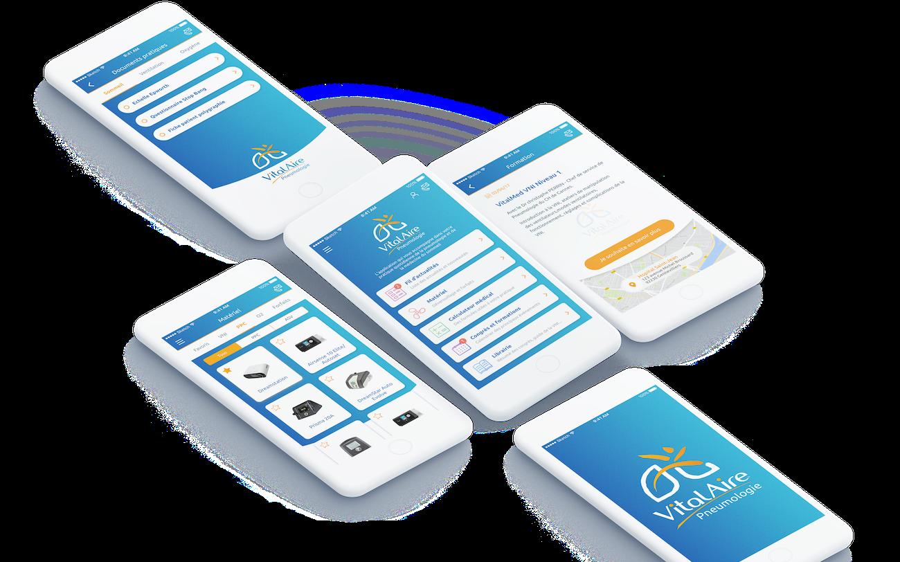 VitalAire Respiratoire   Application mobile