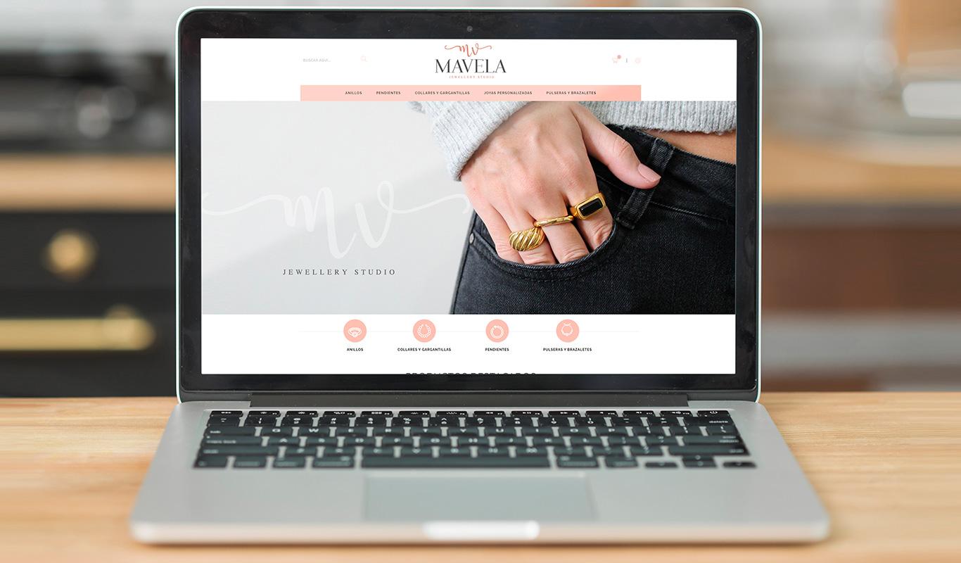 Branding, redes sociales y página web para joyería - Estrategia digital