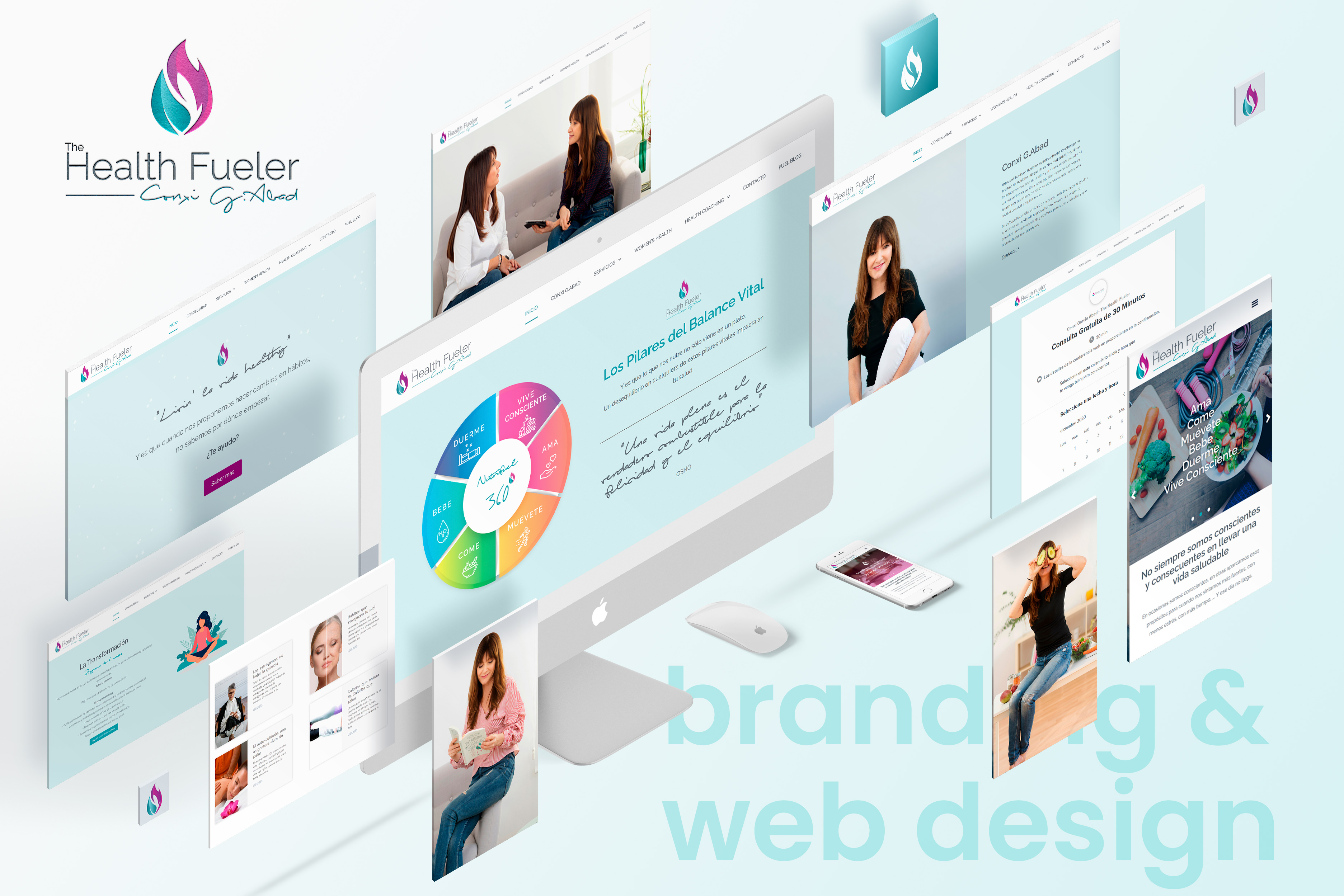 Branding & Web - The Health Fueler - Creación de Sitios Web