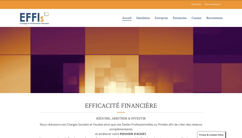 Création site internet courtage en banque/Assuranc