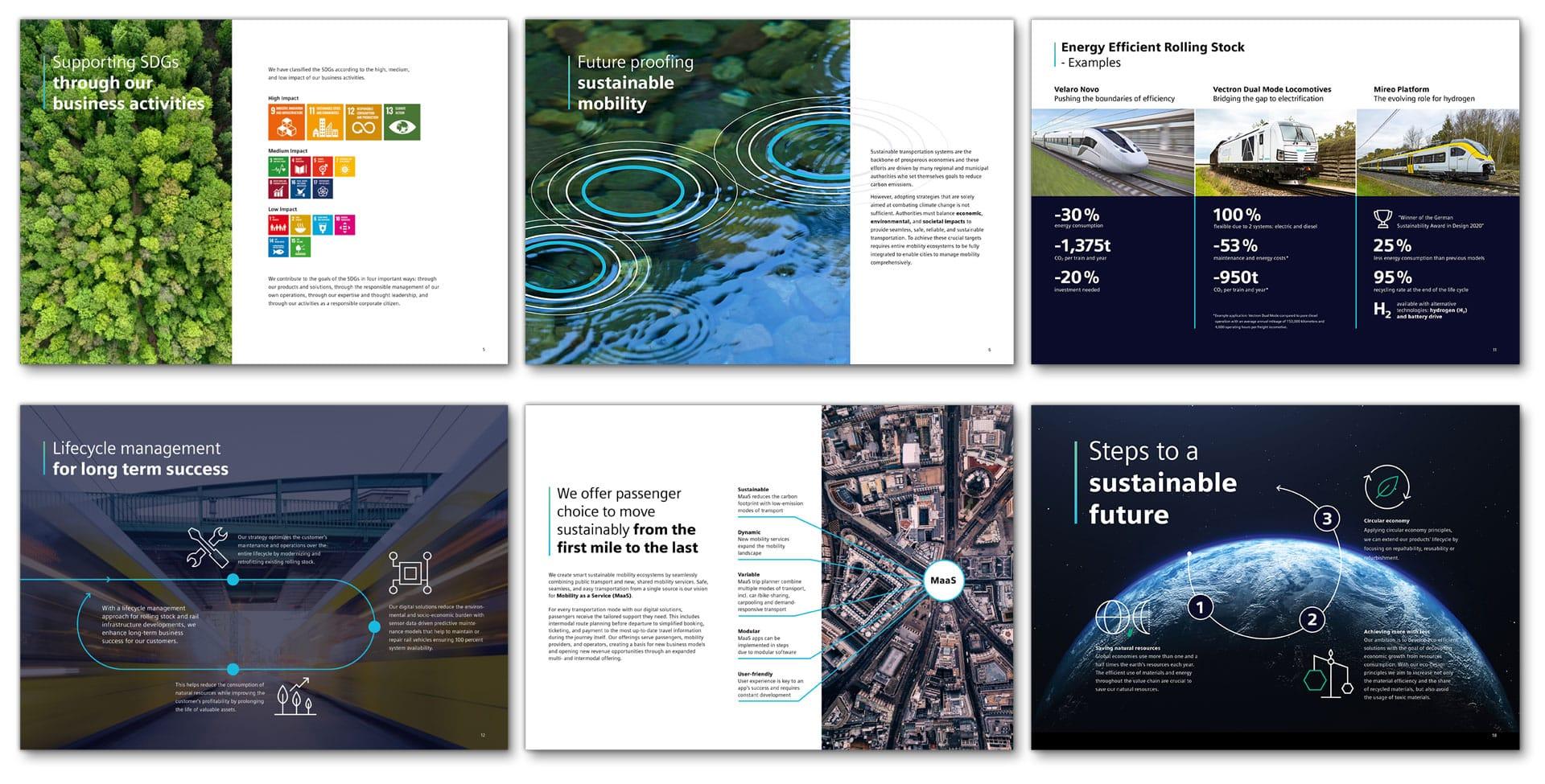 Siemens Mobility – Nachhaltigkeit erleben - Markenbildung & Positionierung