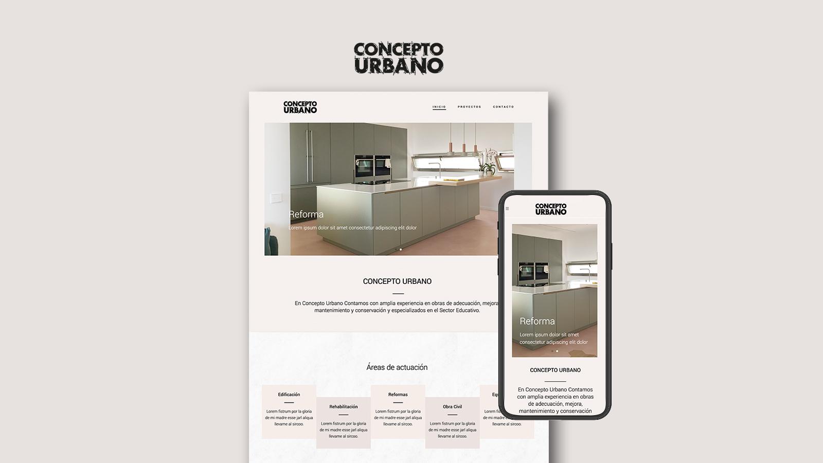 Diseño web Arquitectura y Construcción - Branding y posicionamiento de marca