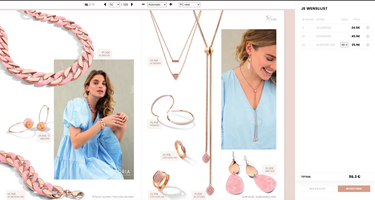 Victoria Jewelry | Website Creation - Création de site internet