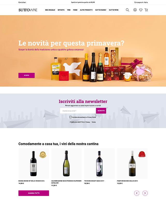 Sutto Wine - Branding & Posizionamento