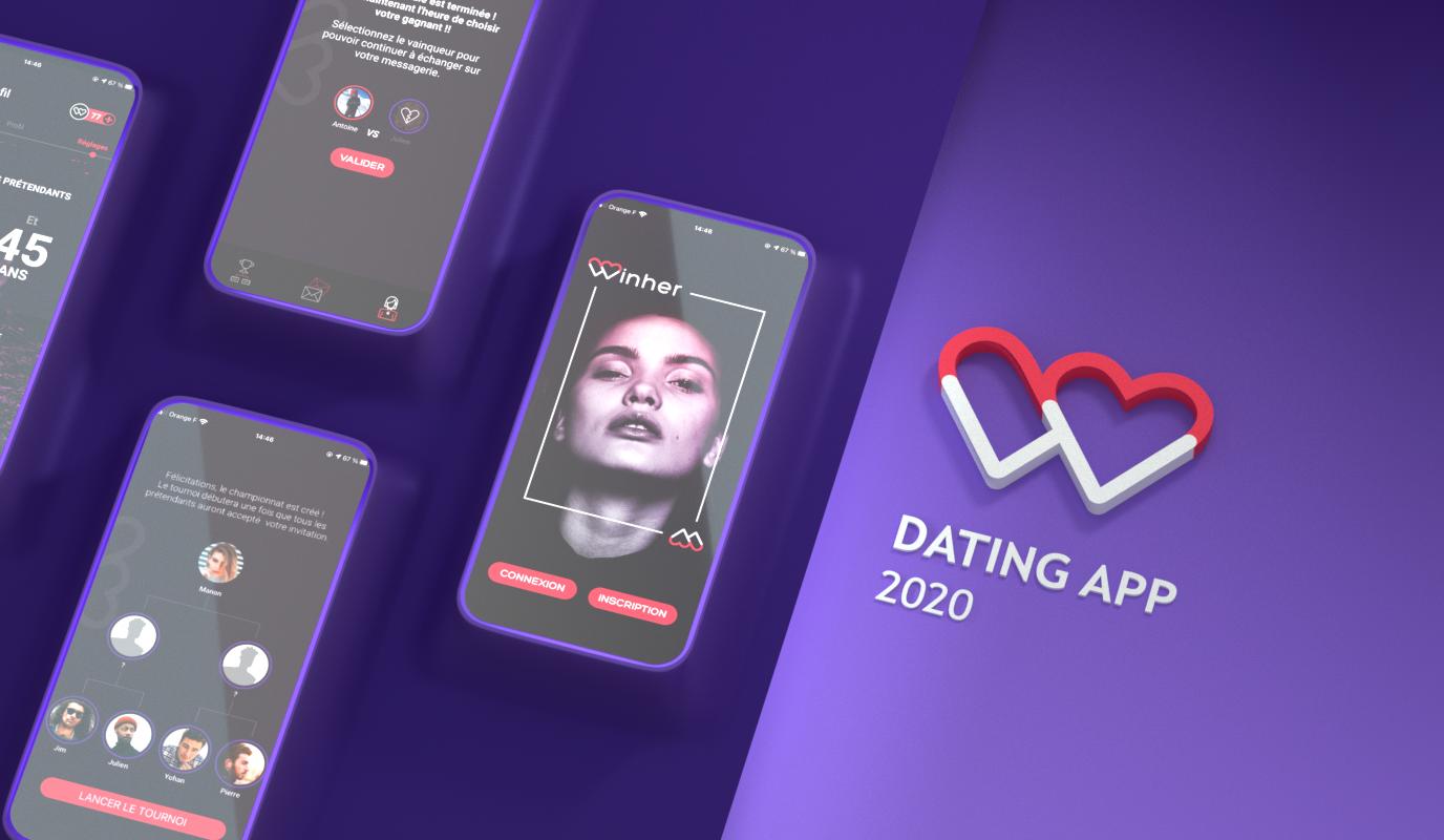 Winher / Lancement de produit - Application mobile