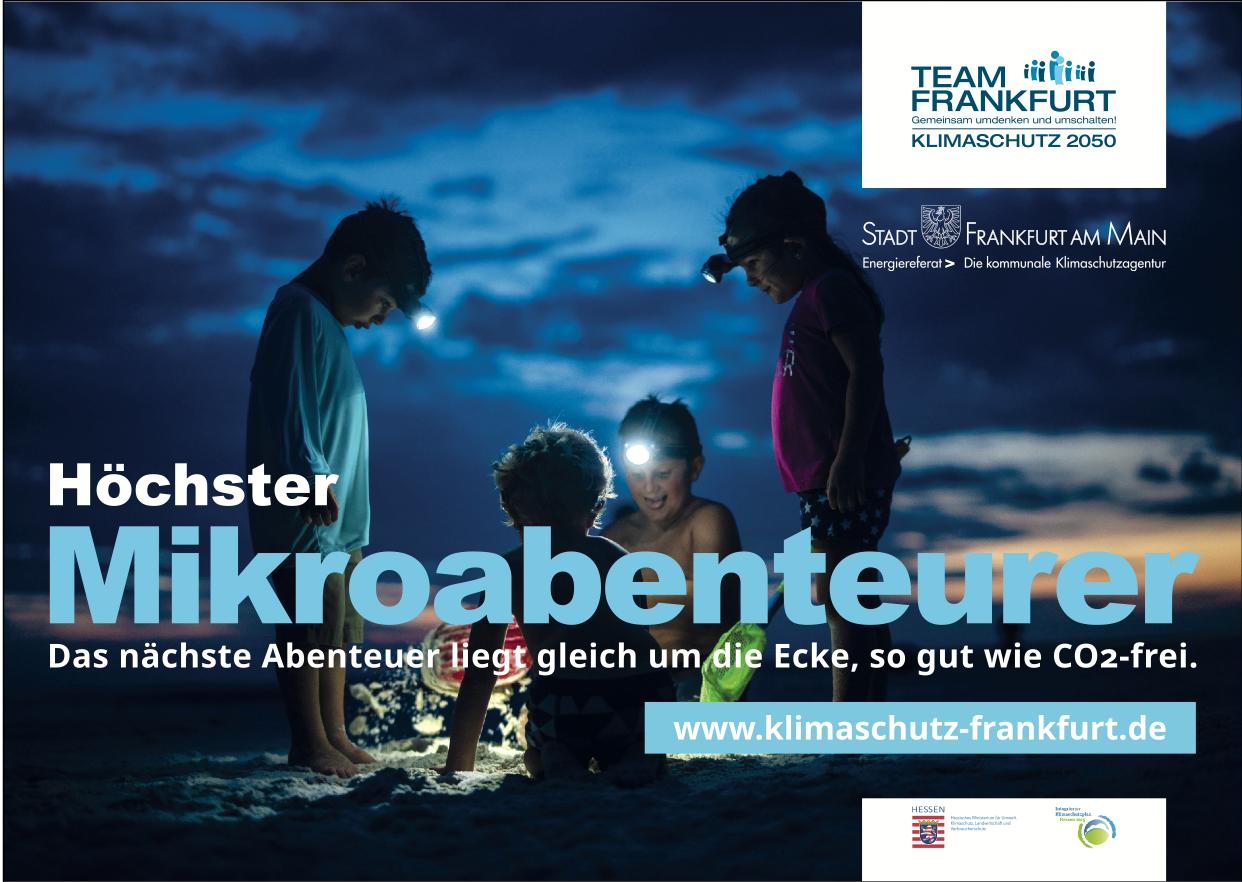 Klimaschutzkampagne der Stadt Frankfurt am Main - Werbung