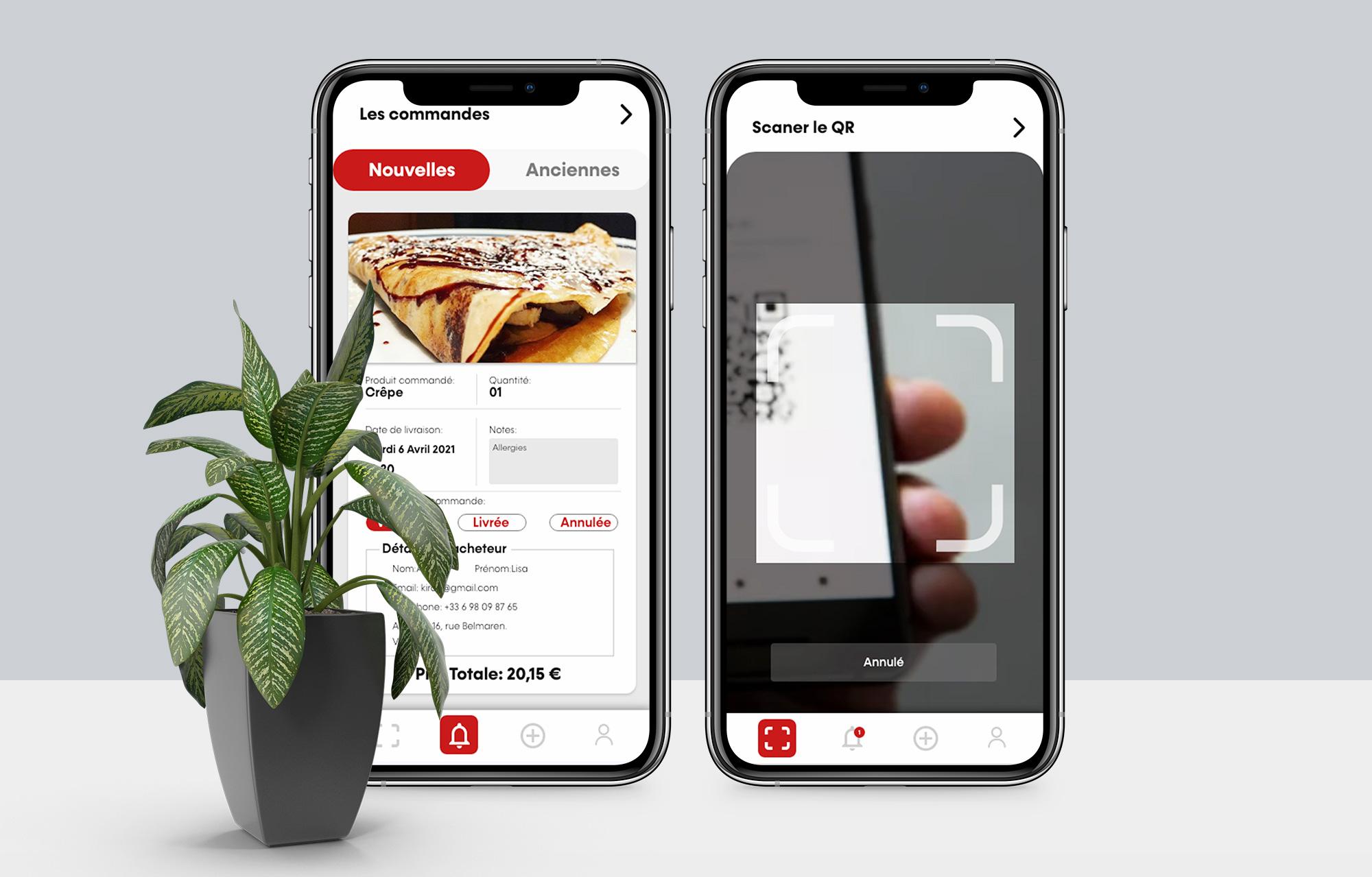 HomeEAT | Application Web - Application web