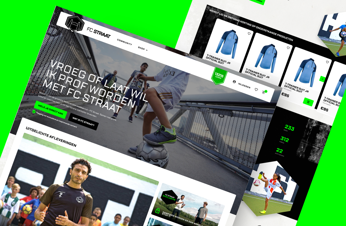 Designing the biggest online football club in NL - Digital Strategy