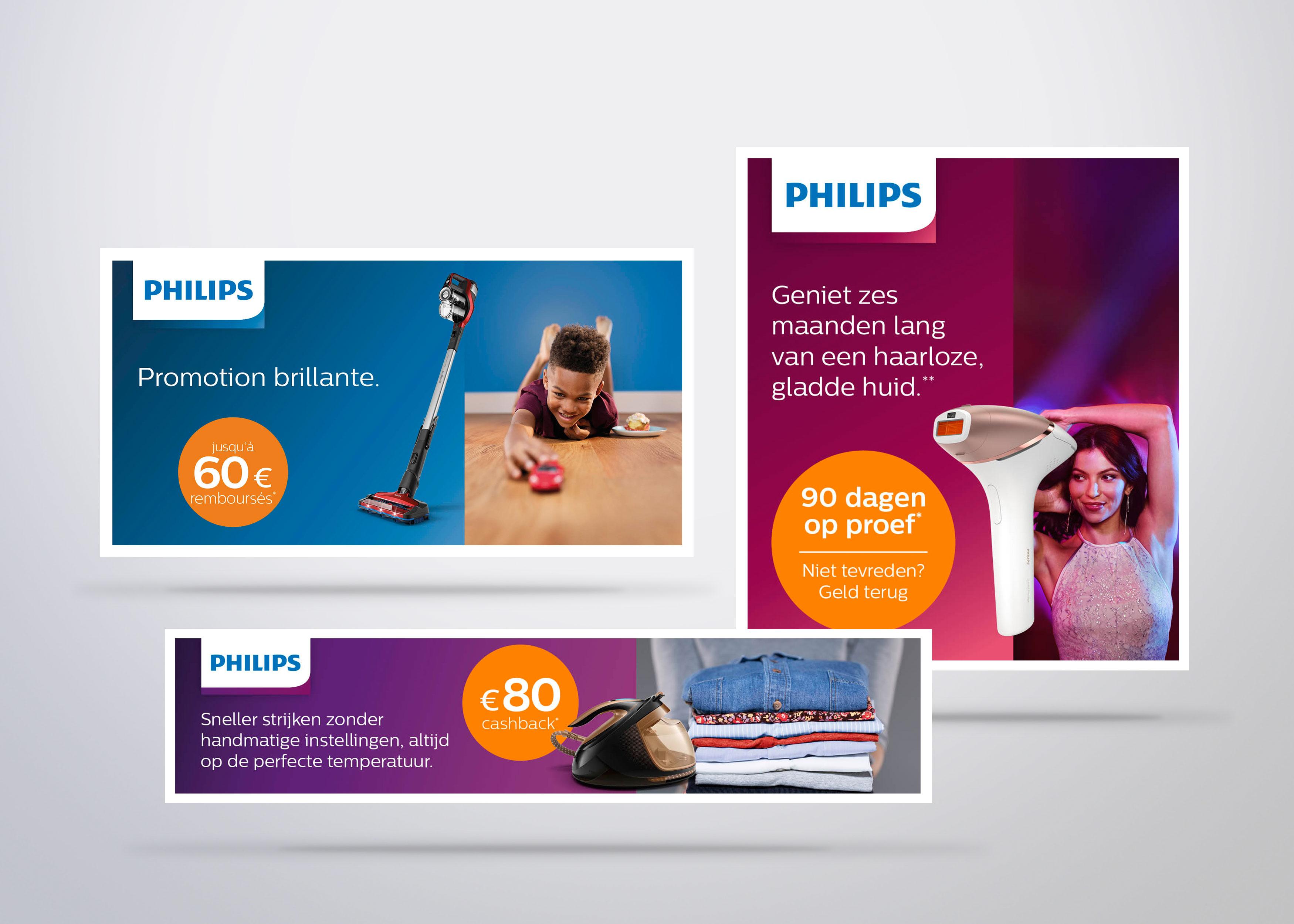 Philips Voorjaarsactie - Image de marque & branding