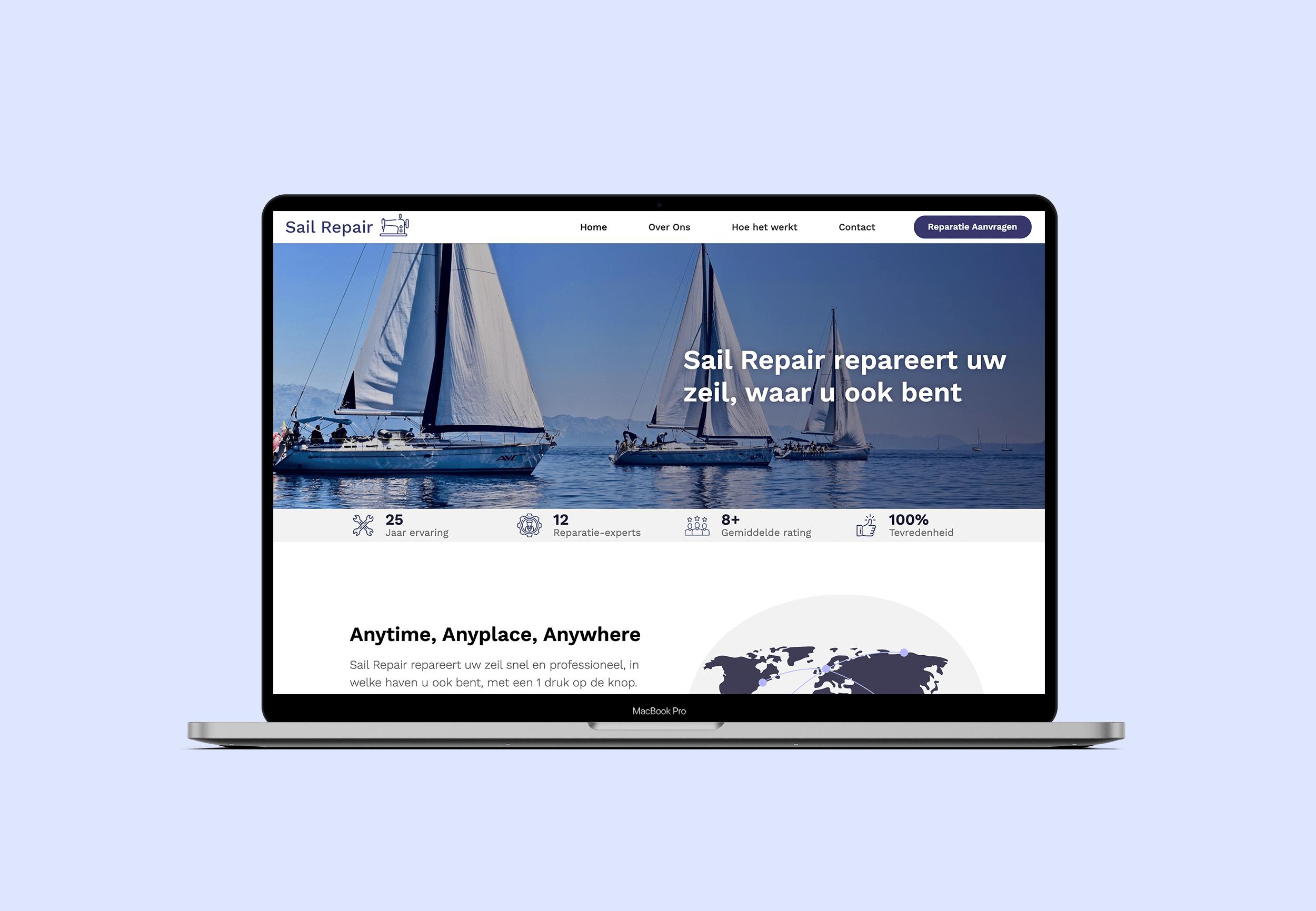 Sail Repair - Website