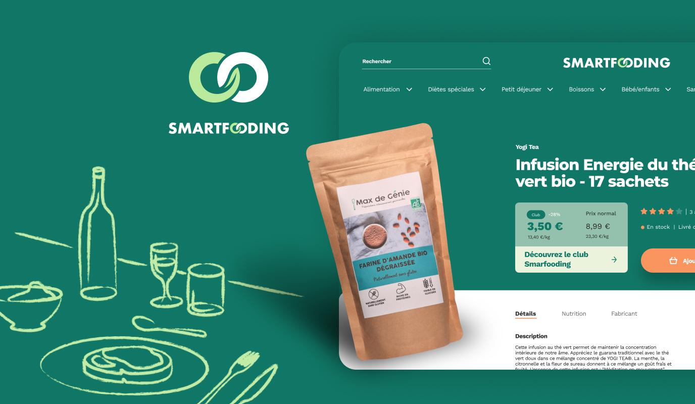 Branding et Design - Site e-commerce alimentation - E-commerce