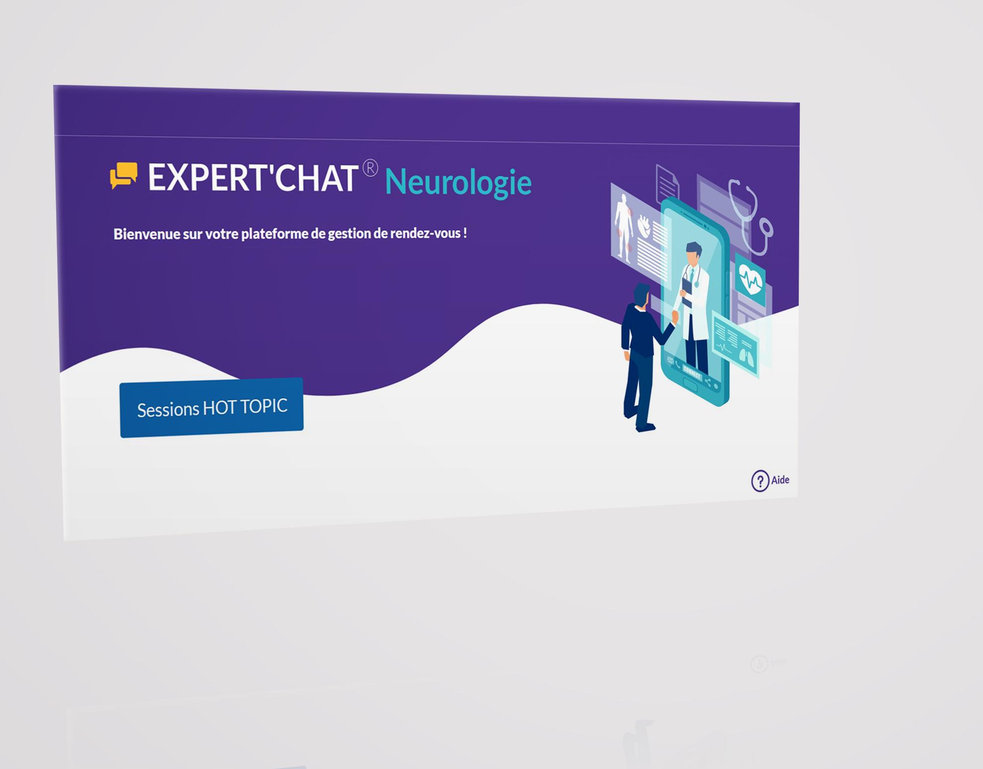 EXPERT CHAT MERCK - Website Creation
