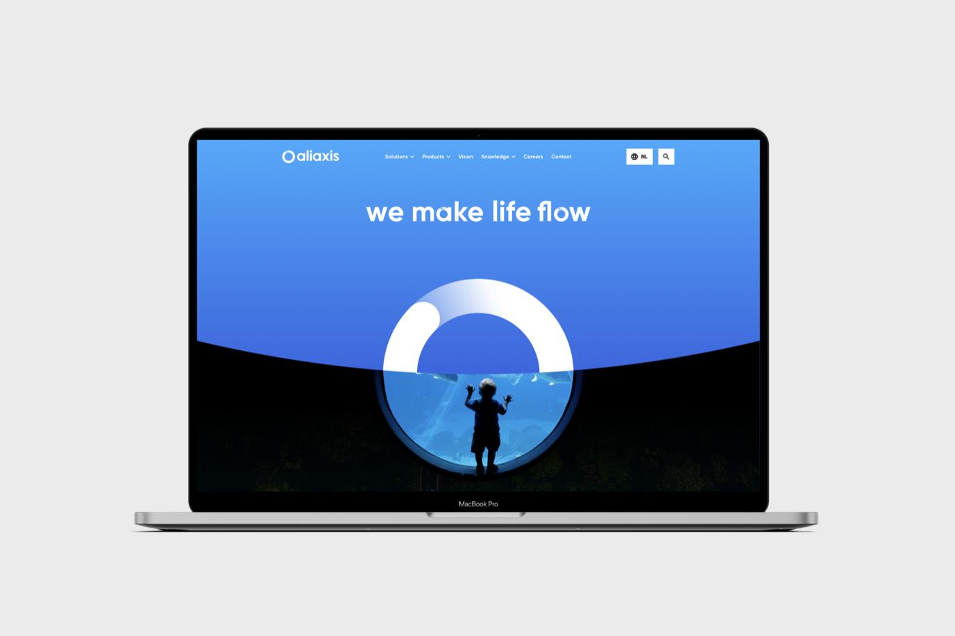 Online design system voor Aliaxis - Website Creatie
