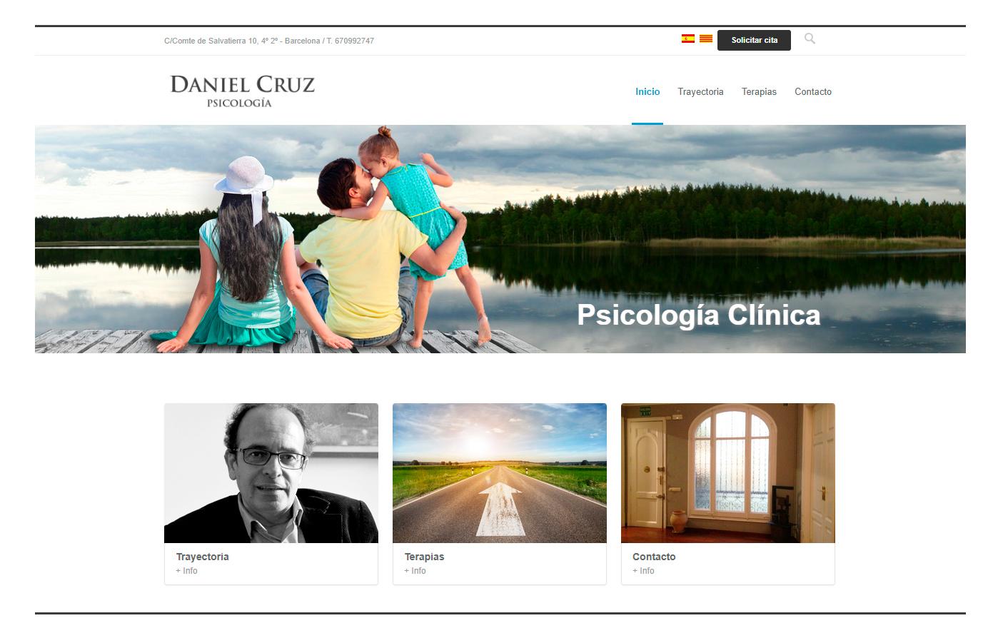 Daniel Cruz Psicología - Estrategia digital