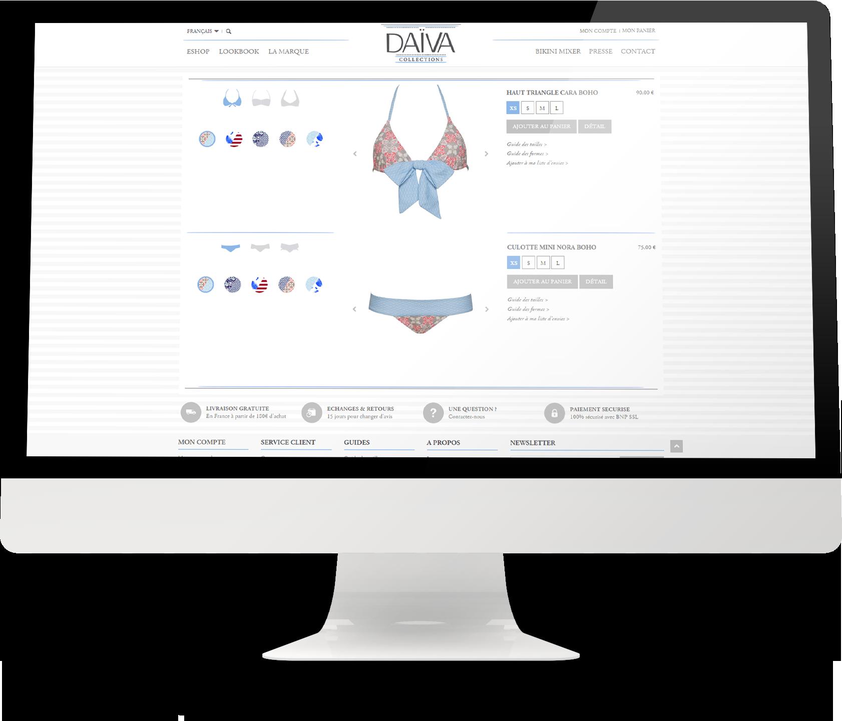Daïva Collections   Site Web