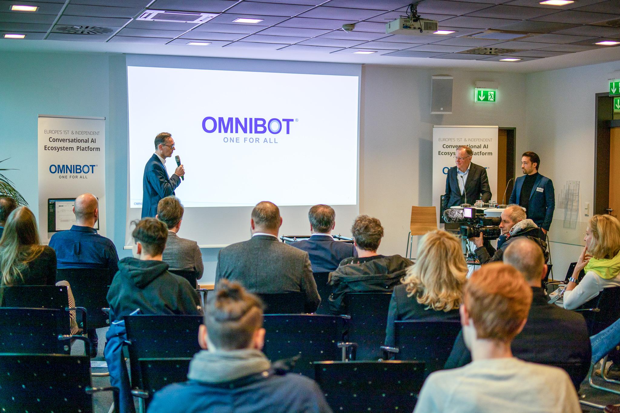 PR: Presseevent OmniBot Künstliche Intelligenz
