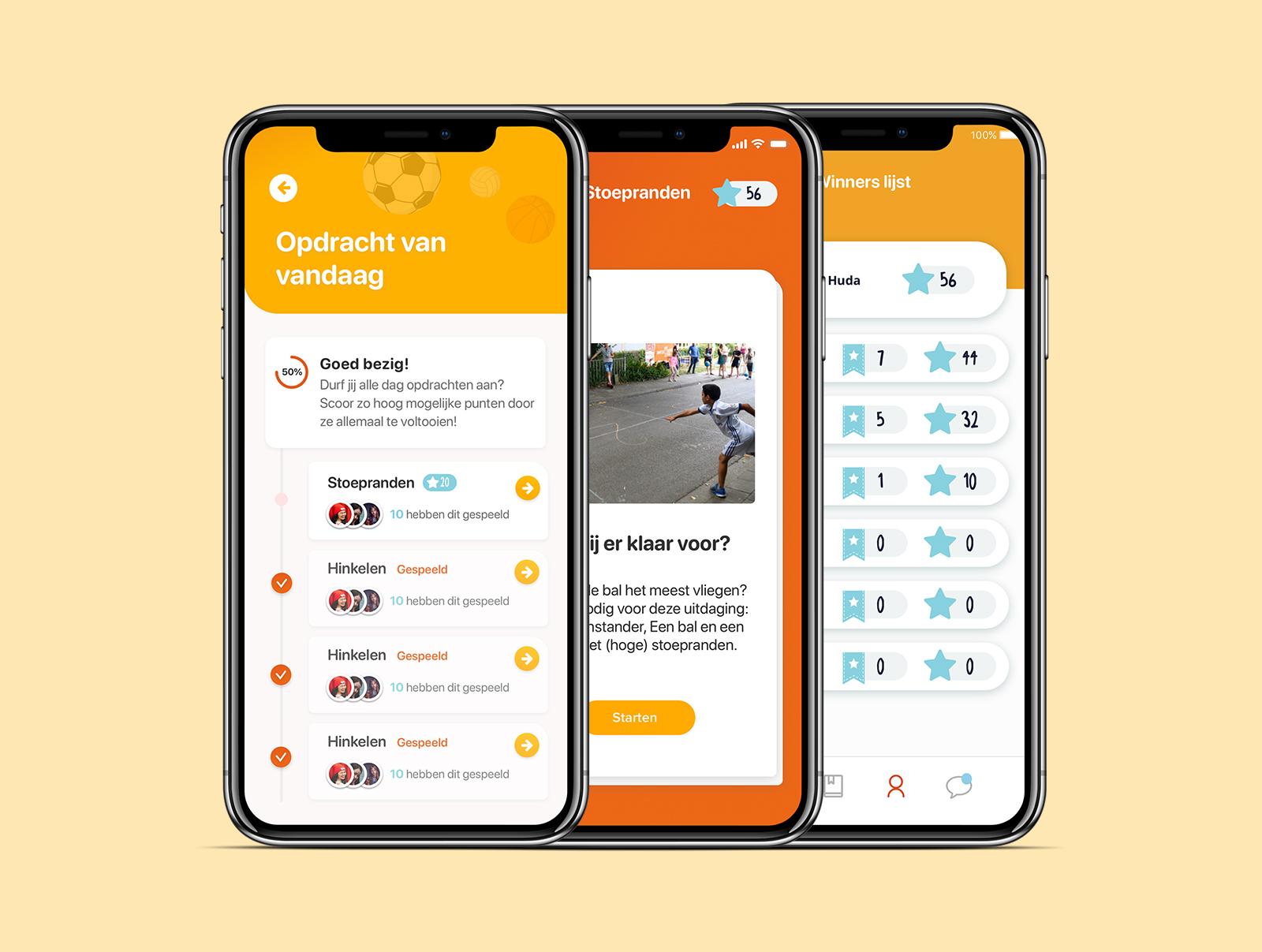 Bewegen met Primio - Mobile App