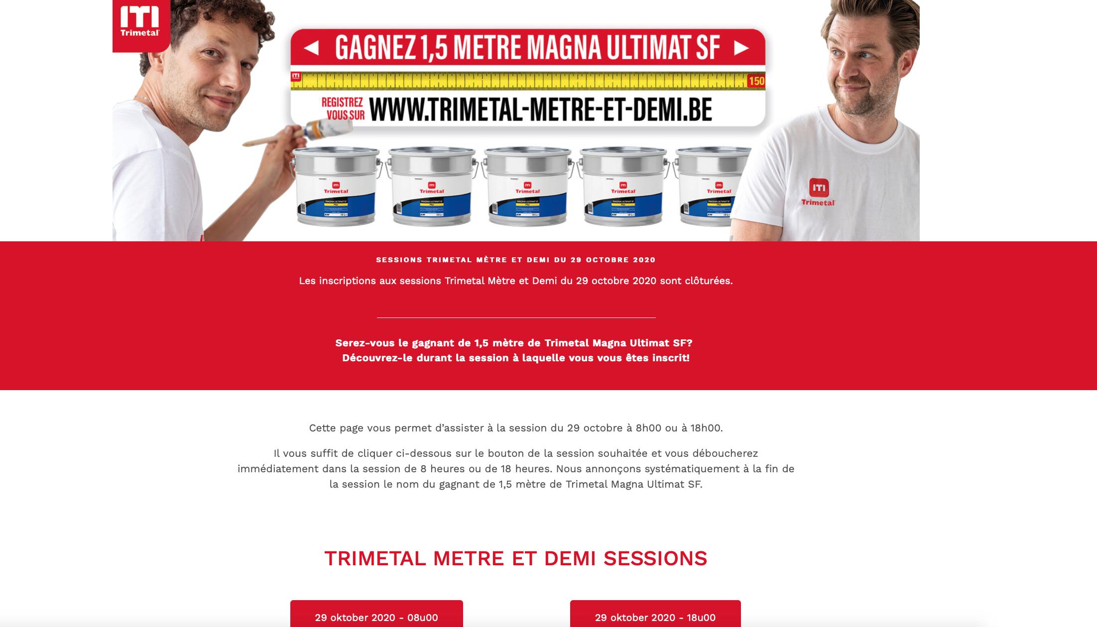 TRIMETAL: Turning a webinar into a virtual event - Image de marque & branding