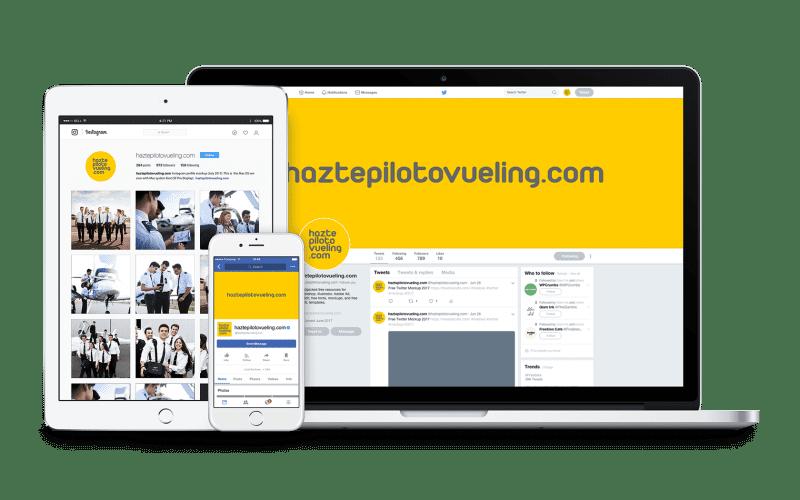 Vueling campaign - Branding y posicionamiento de marca