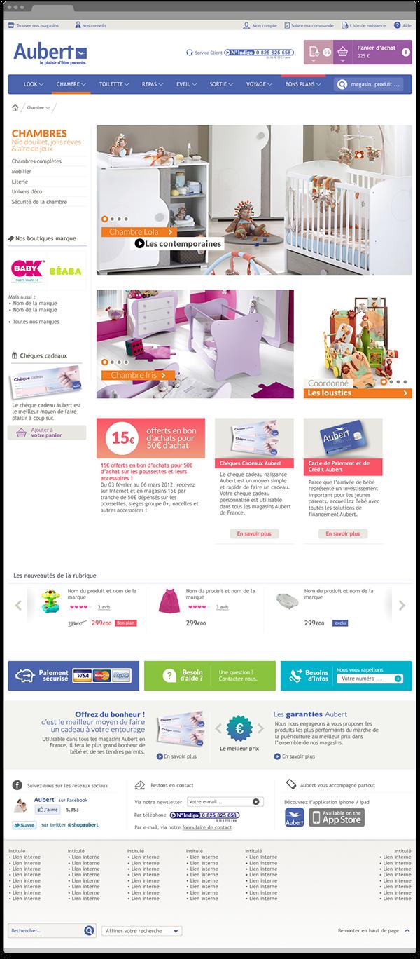 Aubert - Design UX/UI